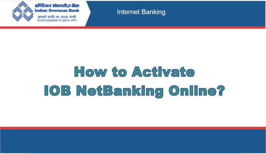 iob netbanking