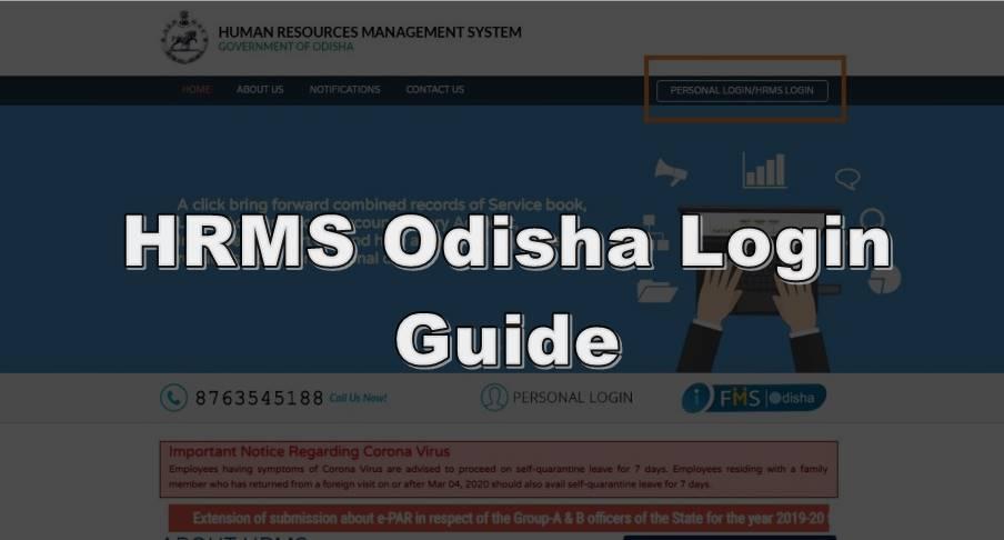 hrms odisha login guide