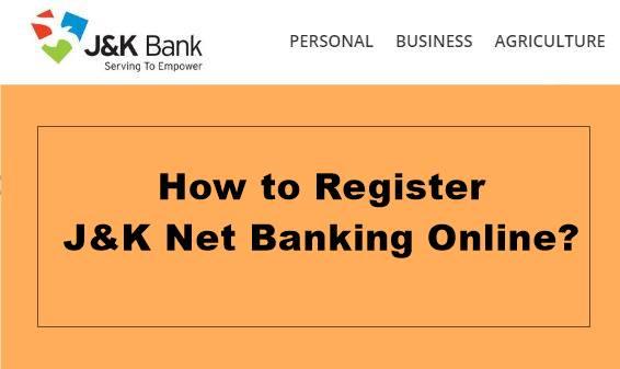 register jk net banking online